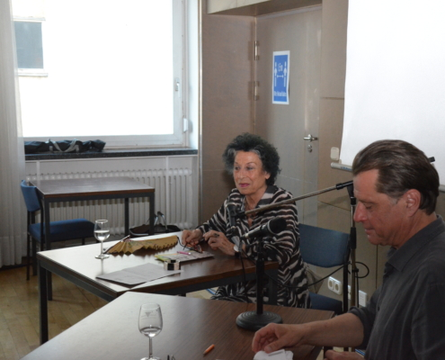 Lea Rosh mit Winrich Hopp