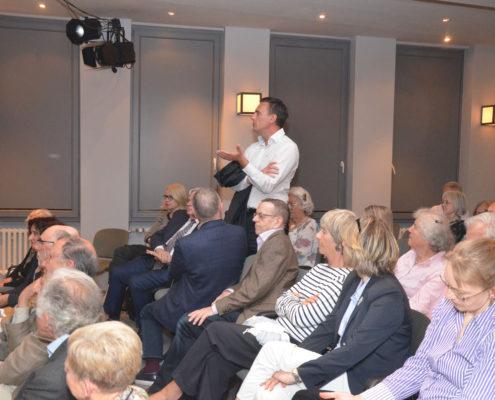 Debatte mit dem Publikum